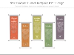 New Product Funnel Template Ppt Design