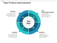 New Product Improvements Ppt PowerPoint Presentation Summary Cpb