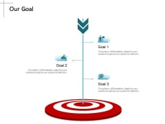 New Product Introduction In The Market Our Goal Ppt PowerPoint Presentation Infographics Themes PDF