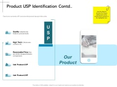 New Product Introduction In The Market Product USP Identification Contd Ppt PowerPoint Presentation Model Graphic Images PDF