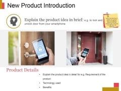 New Product Introduction Ppt PowerPoint Presentation Diagrams