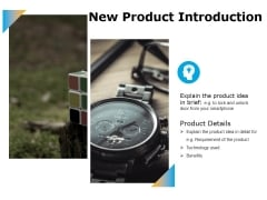 New Product Introduction Ppt PowerPoint Presentation Ideas File Formats