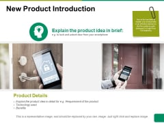 New Product Introduction Ppt PowerPoint Presentation Portfolio Graphics Example