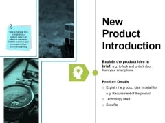 New Product Introduction Ppt PowerPoint Presentation Show Graphics