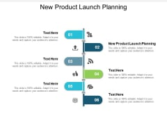 New Product Launch Planning Ppt PowerPoint Presentation Inspiration Infographics Cpb