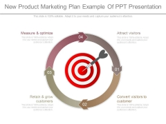 New Product Marketing Plan Example Of Ppt Presentation