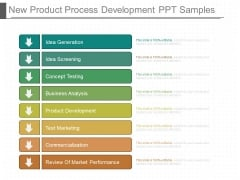 New Product Process Development Ppt Samples