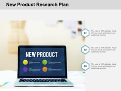 New Product Research Plan Ppt Powerpoint Presentation Layouts Icon