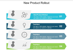 New Product Rollout Ppt PowerPoint Presentation Gallery Demonstration Cpb