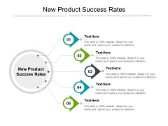 New Product Success Rates Ppt PowerPoint Presentation Infographic Template Format Ideas Cpb