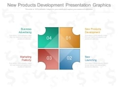 New Products Development Presentation Graphics