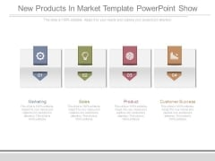 New Products In Market Template Powerpoint Show