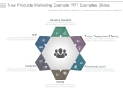 New Products Marketing Example Ppt Examples Slides