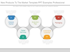 New Products To The Market Template Ppt Examples Professional