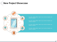 New Project Showcase Ppt PowerPoint Presentation Ideas Example Introduction