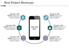 New Project Showcase Ppt PowerPoint Presentation Layouts Elements