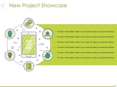 New Project Showcase Ppt PowerPoint Presentation Summary Professional