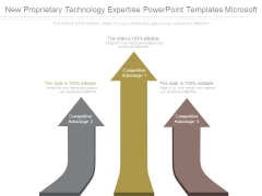 New Proprietary Technology Expertise Powerpoint Templates Microsoft