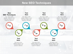 New SEO Techniques Ppt PowerPoint Presentation Microsoft Cpb