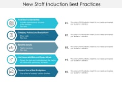 New Staff Induction Best Practices Ppt PowerPoint Presentation Summary Graphics Download