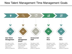 New Talent Management Time Management Goals Outsourced Staff Ppt PowerPoint Presentation Slides Sample