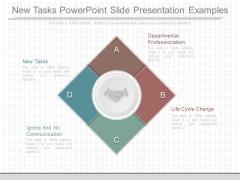 New Tasks Powerpoint Slide Presentation Examples