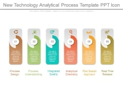 New Technology Analytical Process Template Ppt Icon