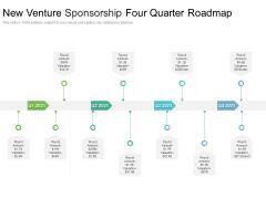 New Venture Sponsorship Four Quarter Roadmap Topics