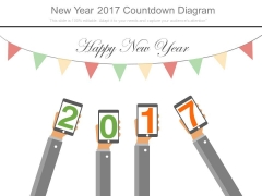 New Year 2017 Countdown Diagram