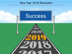 New Year 2019 Revolution Ppt PowerPoint Presentation Professional Ideas