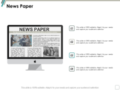 News Paper Business Marketing Ppt Powerpoint Presentation Show Graphics