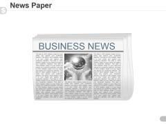News Paper Ppt PowerPoint Presentation Design Ideas