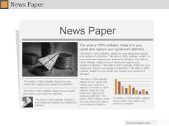 News Paper Ppt PowerPoint Presentation Designs Download