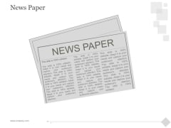 News Paper Ppt PowerPoint Presentation Example 2015