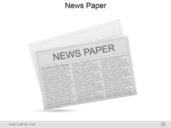 News Paper Ppt PowerPoint Presentation Icon Slide