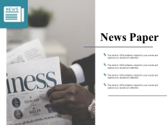News Paper Ppt PowerPoint Presentation Ideas Picture