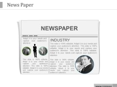 News Paper Ppt PowerPoint Presentation Infographic Template