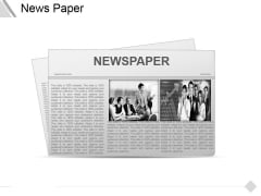 News Paper Ppt PowerPoint Presentation Infographics Summary