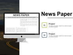 News Paper Ppt PowerPoint Presentation Inspiration Clipart