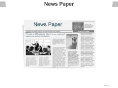 News Paper Ppt PowerPoint Presentation Outline Icons