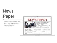 News Paper Ppt PowerPoint Presentation Portfolio Maker
