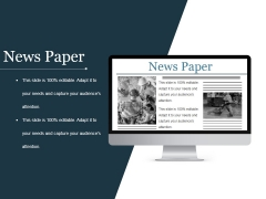 News Paper Ppt PowerPoint Presentation Rules