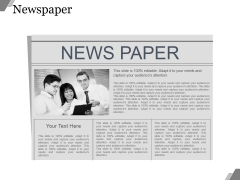 News Paper Ppt PowerPoint Presentation Show