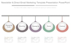 Newsletter And Direct Email Marketing Template Presentation Powerpoint