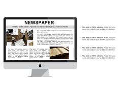 Newspaper Business Management Ppt PowerPoint Presentation Ideas Graphics