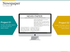 Newspaper Ppt PowerPoint Presentation Clipart