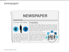 Newspaper Ppt PowerPoint Presentation Diagrams