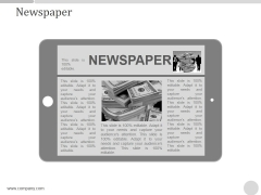 Newspaper Ppt PowerPoint Presentation Example 2015