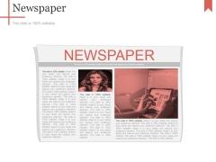 Newspaper Ppt PowerPoint Presentation Icon Layout Ideas