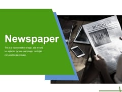 Newspaper Ppt PowerPoint Presentation Icon Slide Download